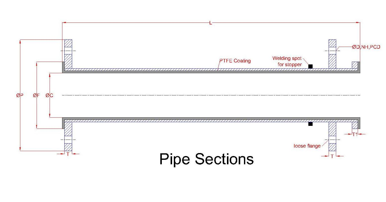Pipe section 2