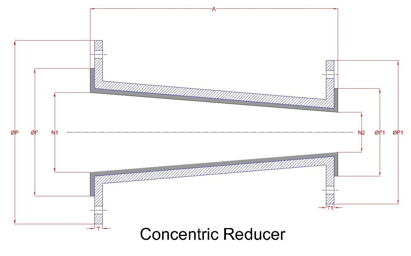 Lined Concentric Reducer 2