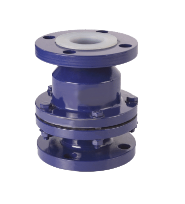 lined-ball-check-valve